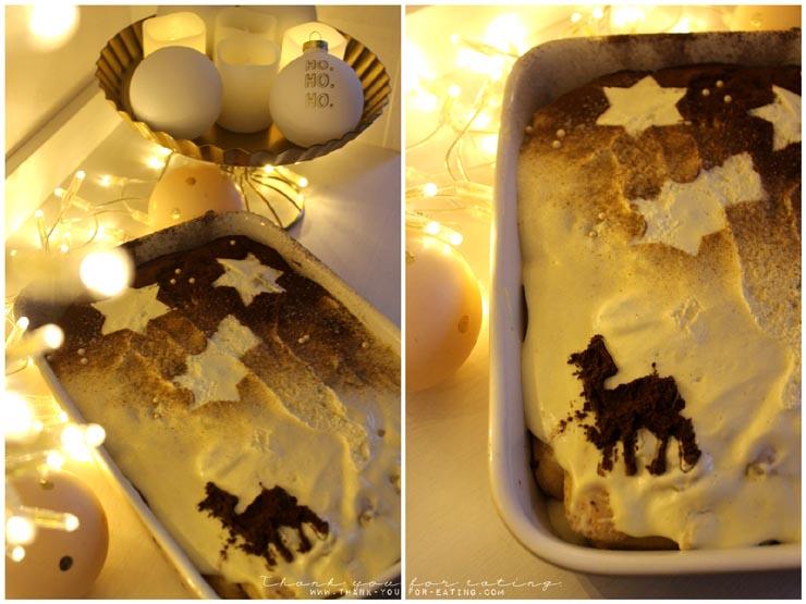 Weihnachtliches Bratapfel-Tiramisu Rezept