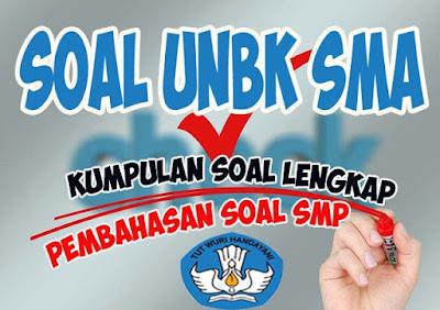 Soal UNBK Bahasa Indonesia dan Pembahasannya