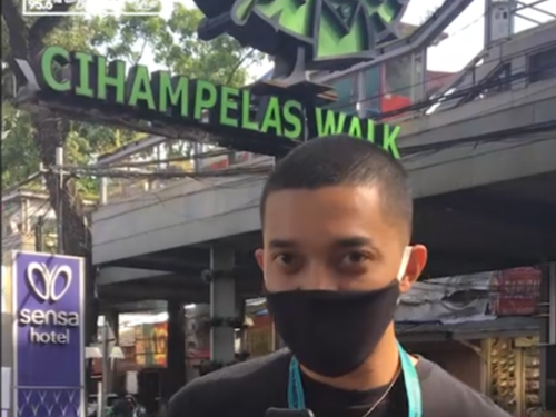 B Radio Jalan-Jalan ke Sejumlah Mall Bandung, Ini Suasananya