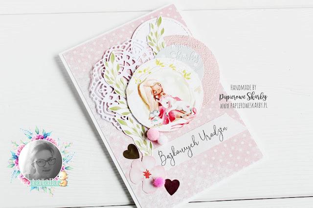 scrapbooking handmade rękodzieło cardmaking kartka cards kartki card na urodziny dla dziewczynki papierowe skarby jednorozec bajkowa unicorn fairy tale na urodzinki urodziny urodzinowa dla dziewczynki birthday girl kid kids