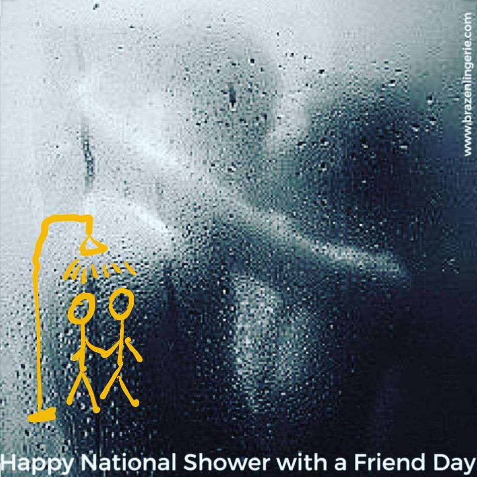 National Shower with a Friend Day Wishes Sweet Images