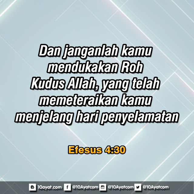 Efesus 4:30