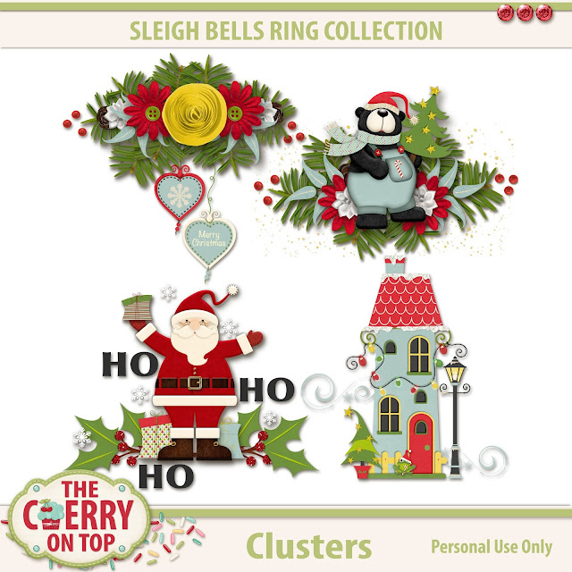 Sleigh Bells Ring Clusters