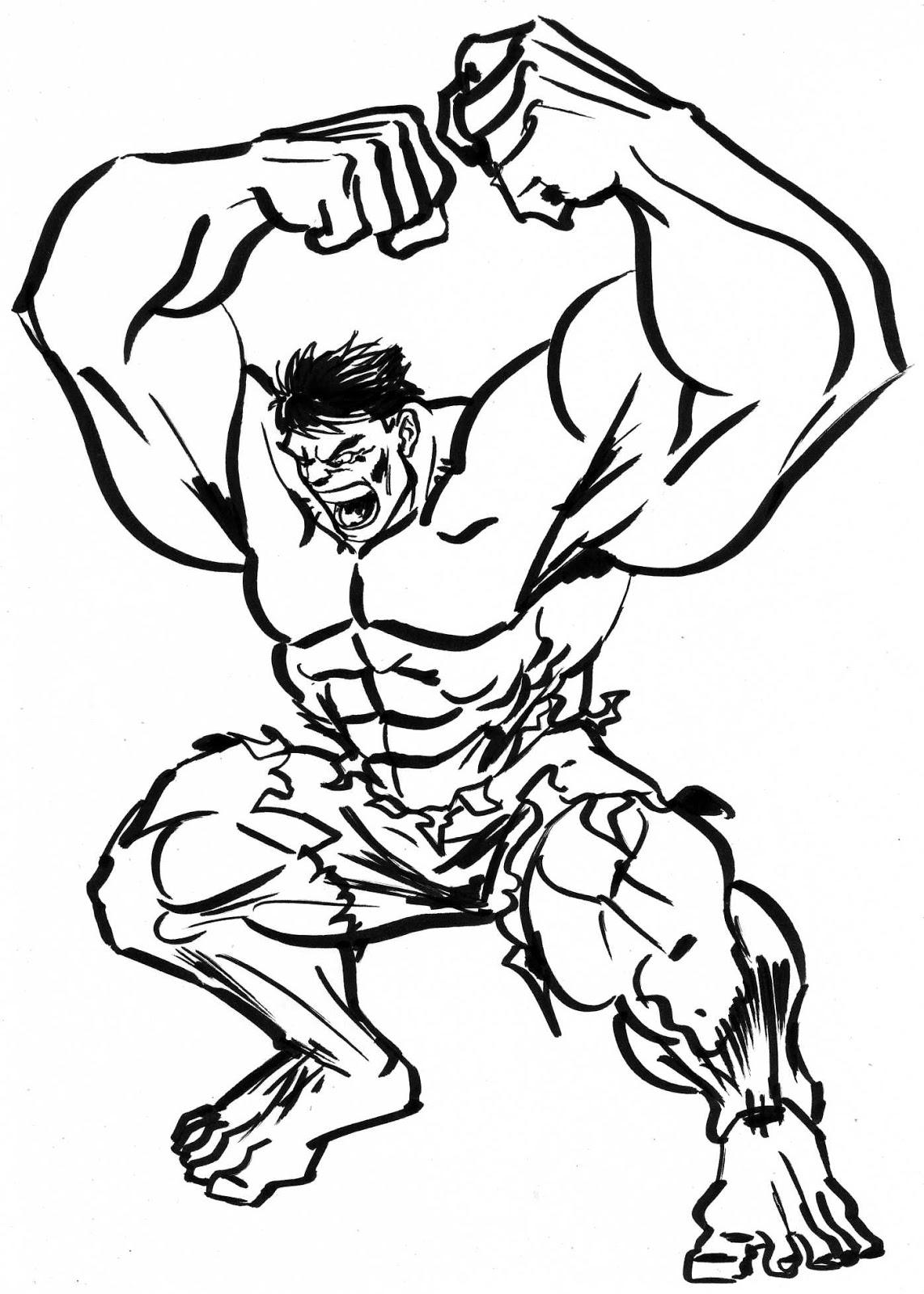 Sibeloy Gambar Hulk