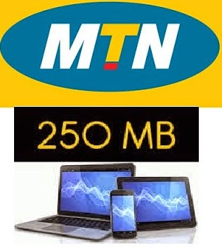 free 250mb from MTN