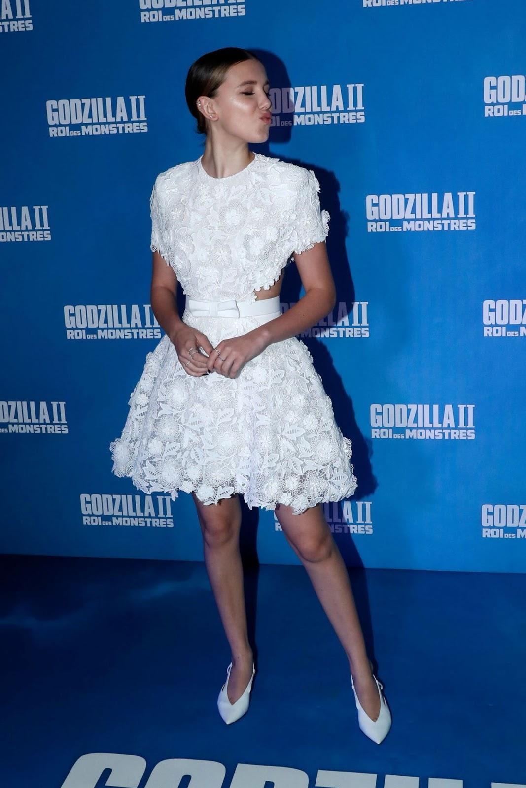 """Millie Bobby Brown – """"Godzilla II – Roi des Monstres"""" Premiere in Paris"""