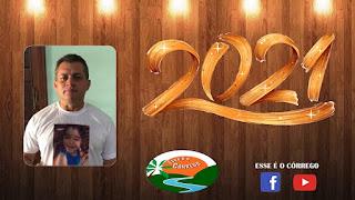 Mensagem de ano novo do Vice-prefeito João Maria