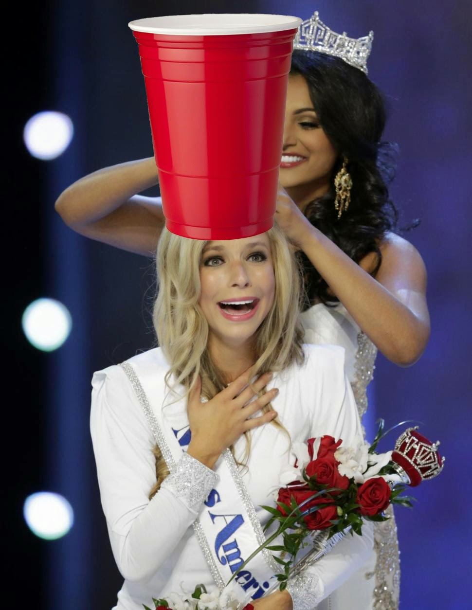 Miss America Solo Red Cup Talent
