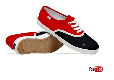 Youtube Shoes - Social Media Shoes
