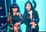 Nicki Minaj shows off her Mum for the first time at the BET awards