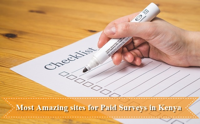 Most Amazing sites for Paid Surveys in Kenya