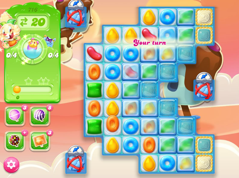 Candy Crush Jelly Saga level 716
