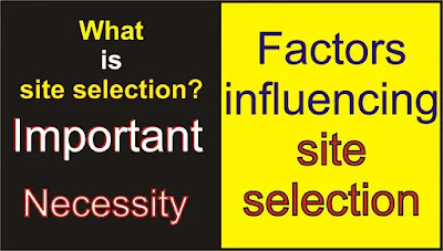 What is site selection