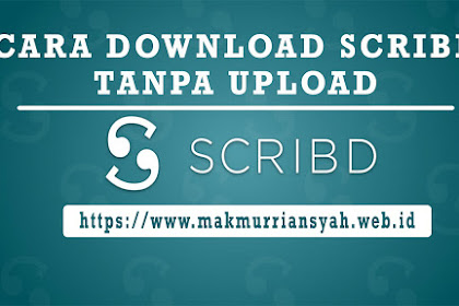 Cara Download Scribd Tanpa Upload