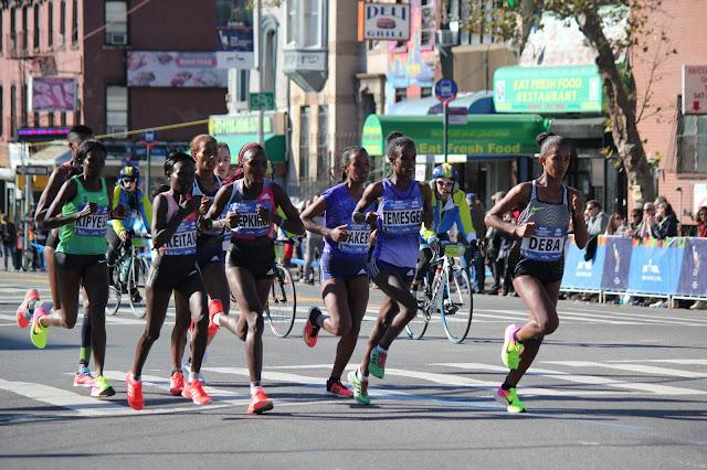 Imagenes del TCS Maratón de Nueva York 2016