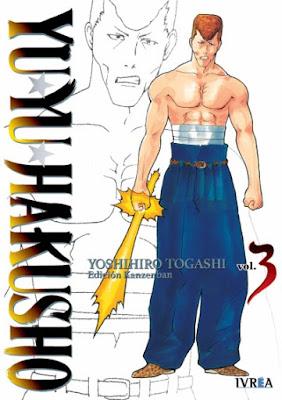 Reseña de Yu Yu Hakusho - ed. Kanzenban - vols. 3 y 4, de Yoshihiro Togashi - Ivrea