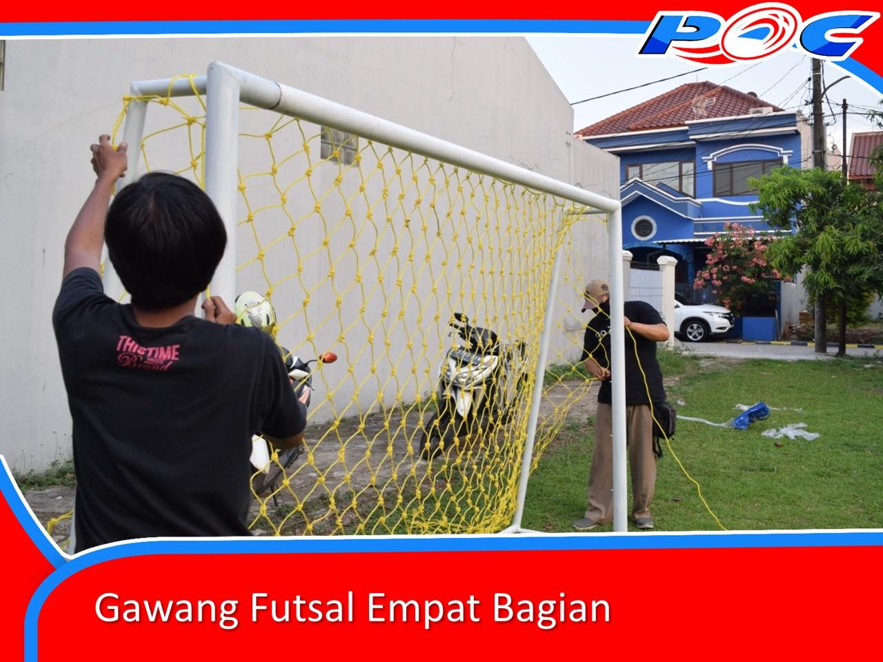 Gawang Futsal Empat Bagian