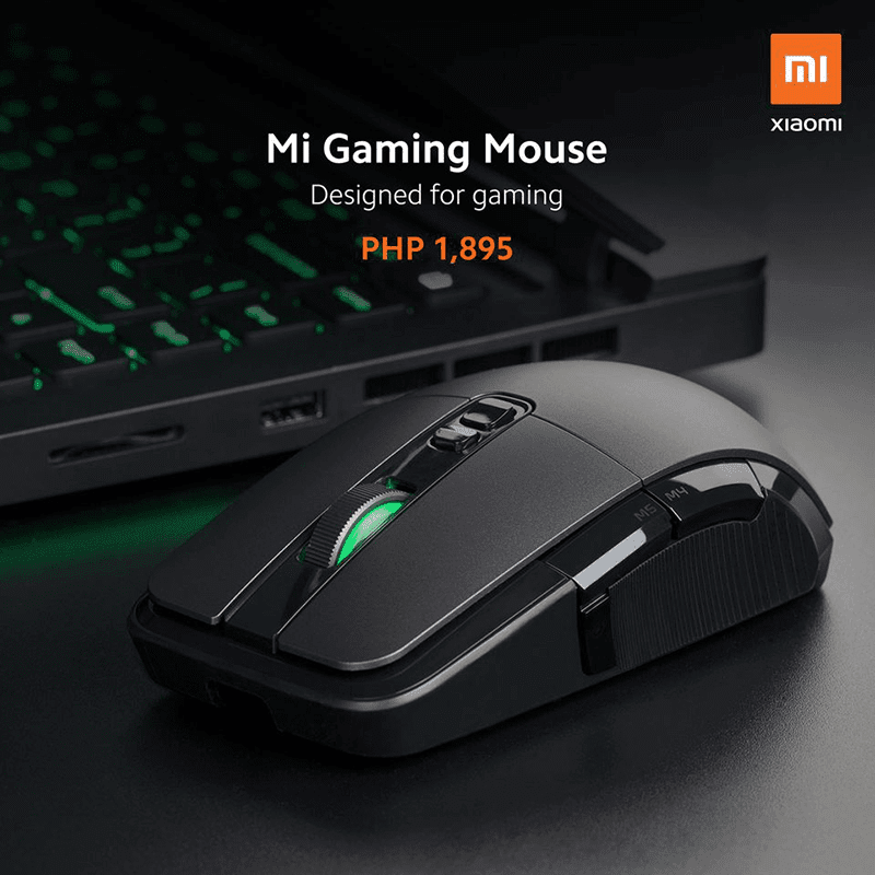 Xiaomi launches Mi Gaming Mouse in the Philippines, priced at PHP 1,895