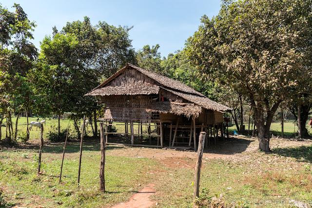 Village - Région de Hpa An - Myanmar Birmanie