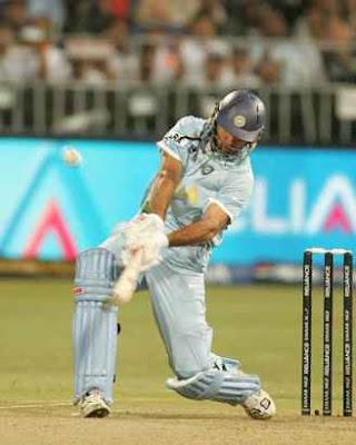 Yuvraj Singh 6 Sixes on 6 Balls in 2007 against england bowler Stuart Broad