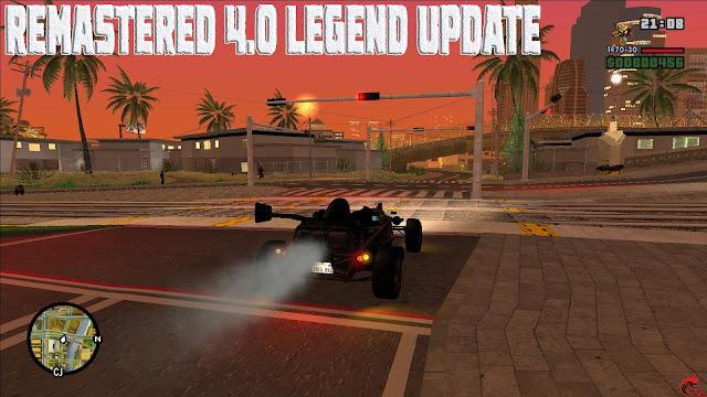 GTA San Andreas Remastered 4.0 Legend Update 2021