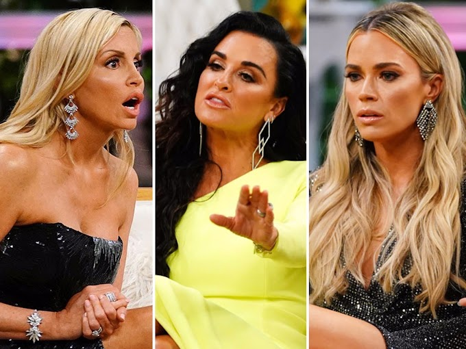 Camille Grammer And Kyle Richards Feud On Twitter Over Teddi Mellencamp Arroyave — Read Their Tweets Here!