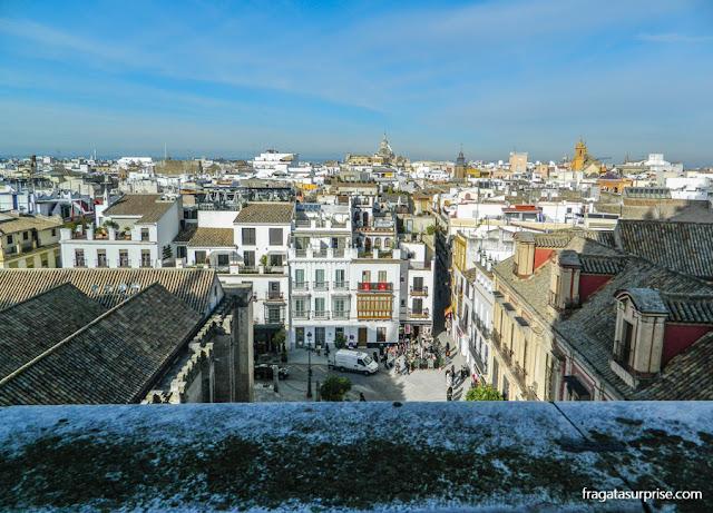 Visto do alto da Torre da Giralda, Sevilha