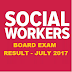 Social Worker Board Exam Results for July 2017, List of Passers