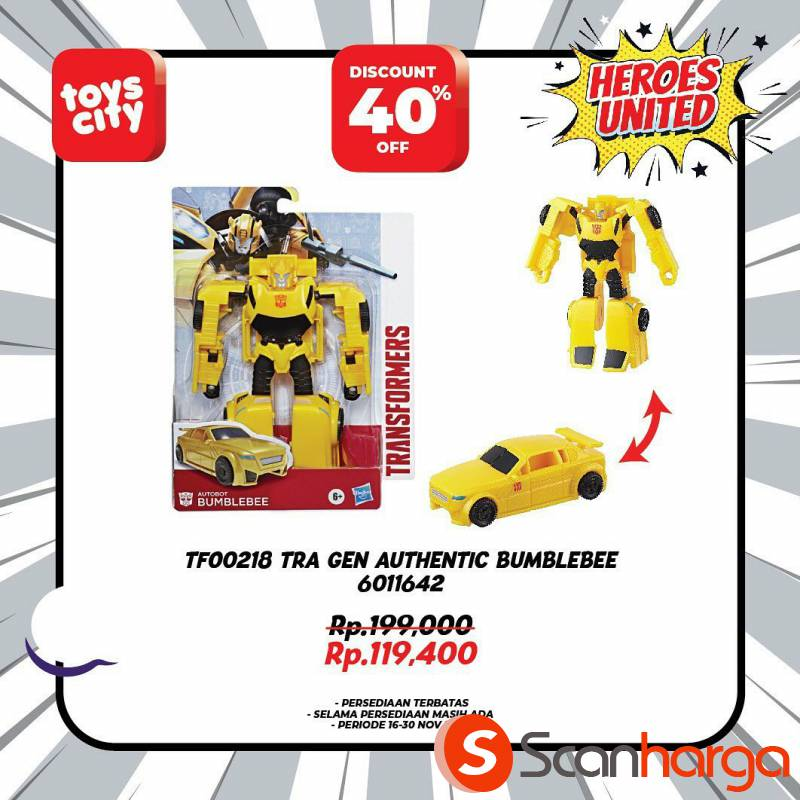 Promo Toys City Fantastic HEROES Collection Special Discount up to 50% 2