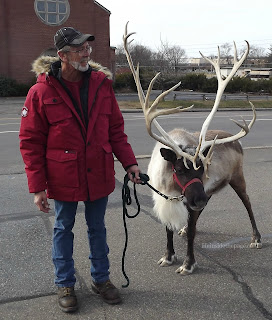 Life Inside the Page | A December Visit with Prancer