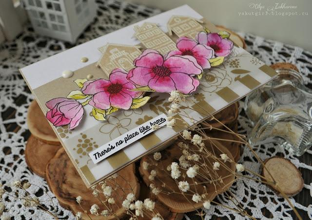 #card#cardmaking#stamps#LesiaZghardastamps#embossing#scrapbooking#