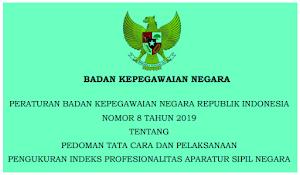 Tata Cara dan Pedoman Pengukuran Indeks Profesionalitas ASN
