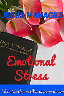 Jesus manages emotional stress