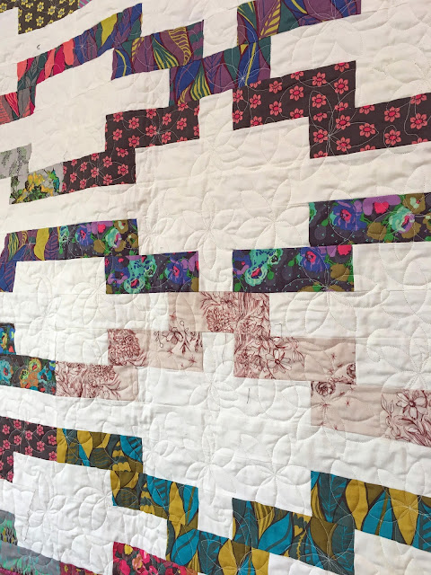 Quilt from Anna Maria Horner's Mod Corsage fabric line