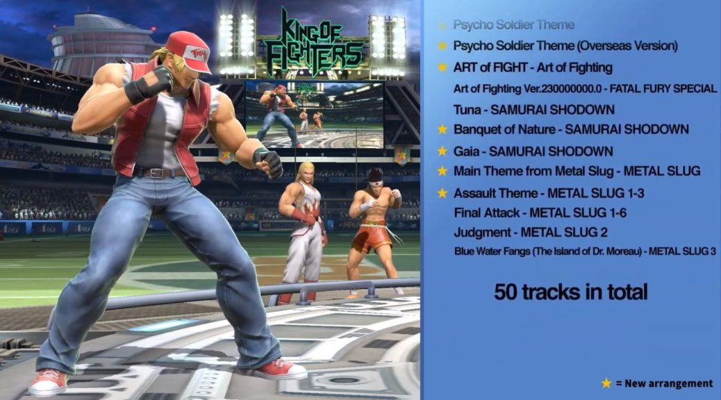 Gaming Rocks On Let S Discuss The 50 Snk Tracks For Terry S Stage