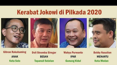 4 Keluaga Jokowi Maju Pilkada, Pigai: Era Babak Belurnya Demokrasi, HAM, dan Tata Krama