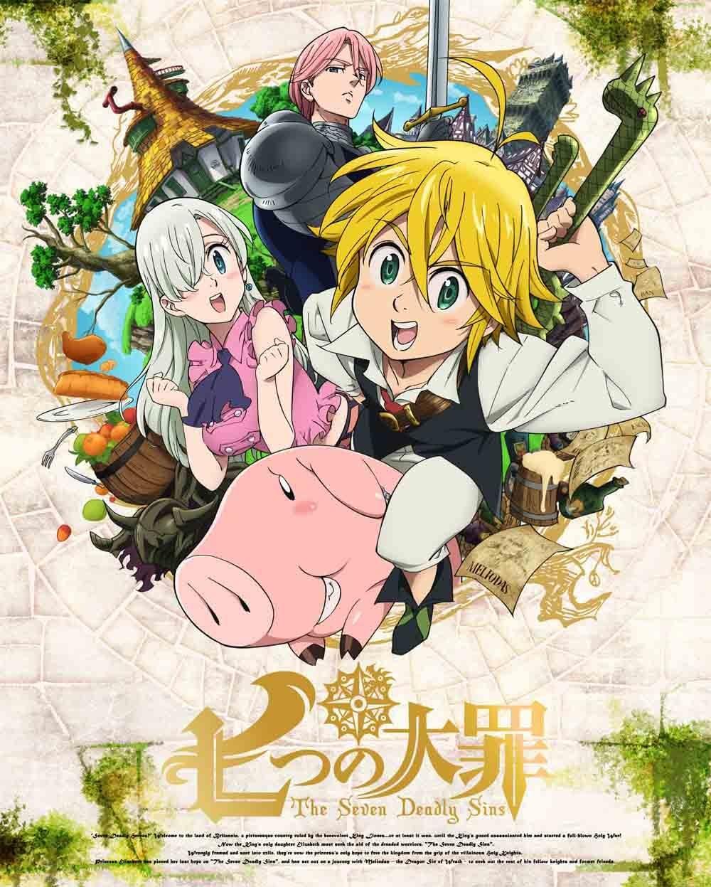 Nanatsu no Taizai S1 BD + OVA Batch Subtitle Indonesia