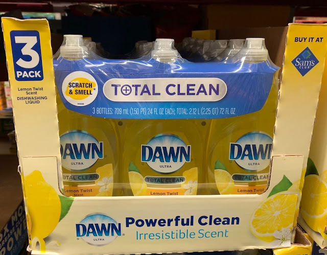 Dawn Total Clean Lemon Twist at Sam's Club #DawnatSamsClub #ad