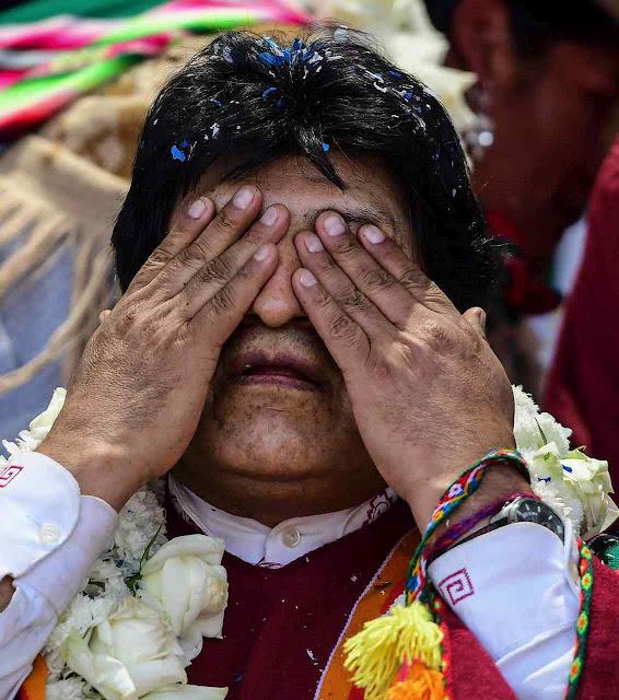 Evo Morales prognosticou vitória chavista-petista e acabou perguntando o que aconteceu