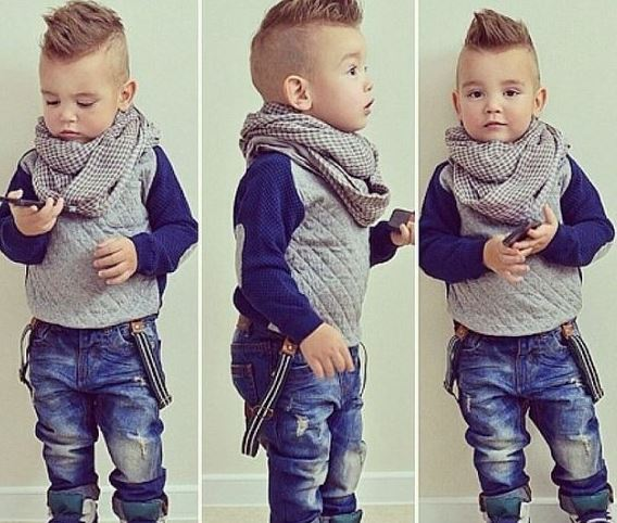 Kids Hairstyles Boys Photo Picture