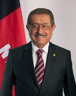 Covid-19: senador José Maranhão é submetido à sedação contínua e segue em tratamento intensivo.