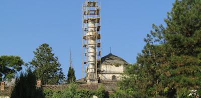 Γιάννενα: Σκαλωσιές στο «λαβωμένο» τζαμί Ασλάν Πασά