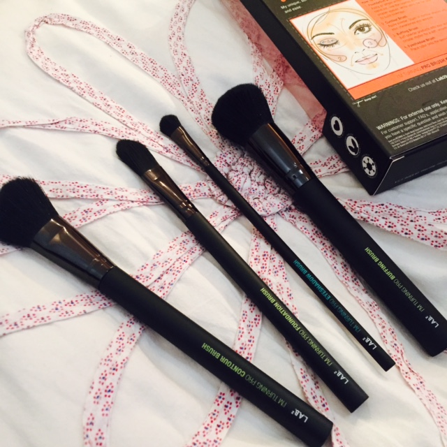 Lab 2 beauty make up brushes