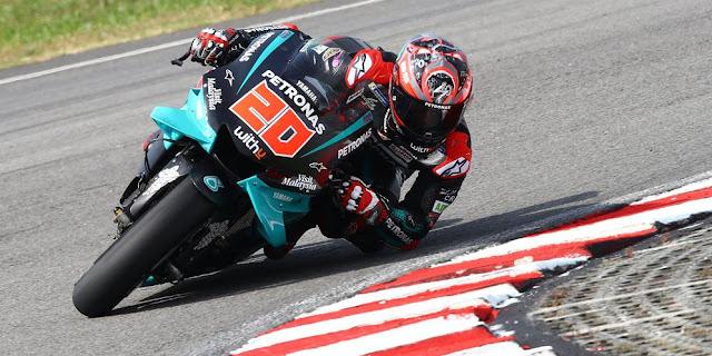 tes MotoGP Sepang, Quartararo menduduki peringkat pertama