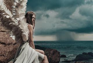 Anioł na skale