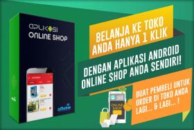 Download Aplikasi Online Shop