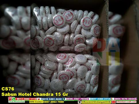 jual Sabun Hotel Chandra 15 Gr