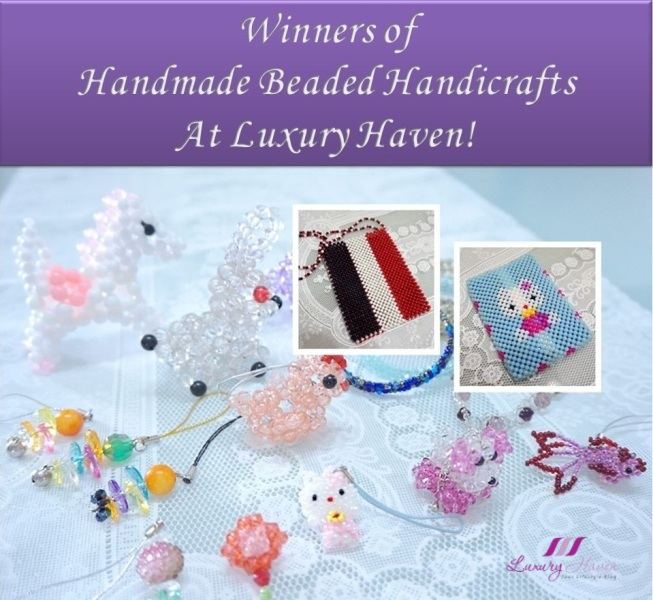 luxury haven giveaway winners handmade jewellery hello kitty
