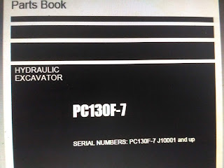 Parts Book komatsu PC130f-7