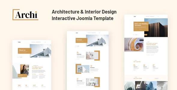 Best Architecture and Interior Design Template